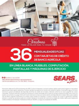 SEARS tiene para ti promociones for christmas shopping