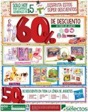 SUPER SELECTOS sigue descuenton de juguetes - 24dic15