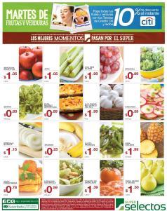 SUPER Selectos Martes de frutas y verduras para tu cena de navidad