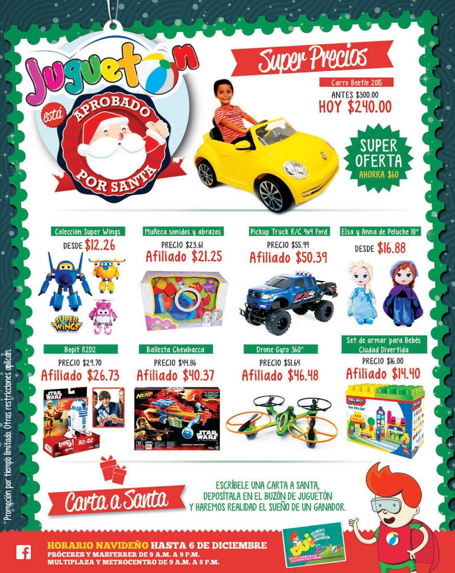 Super precios en juguetes para NINOS en JUGUETON el salvador