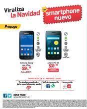 Viraliza la navidad con celulares CLARO promociones