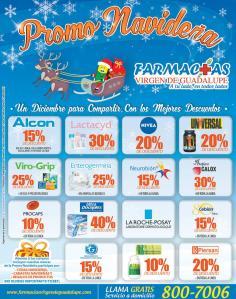 farmacias virgen de guadalupe Promo navideño en medicinas
