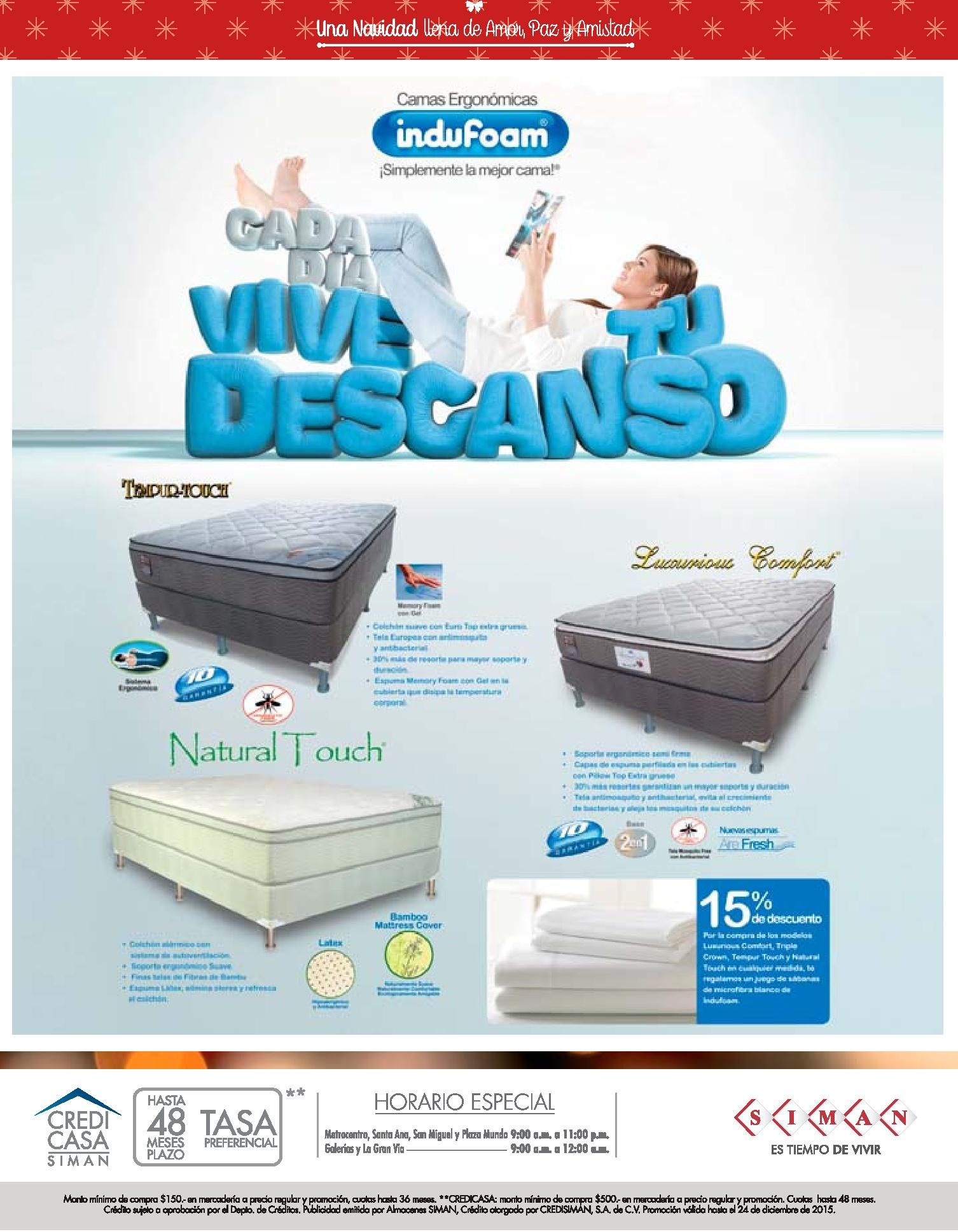 natural touch bed system for rest