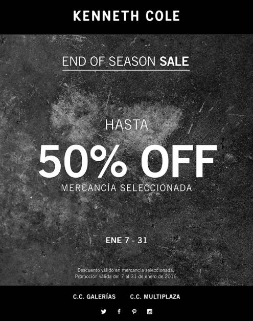 END OF SEASON sale Kenneth cole store
