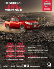NISSAN frontier NP300 new power to 2016 year