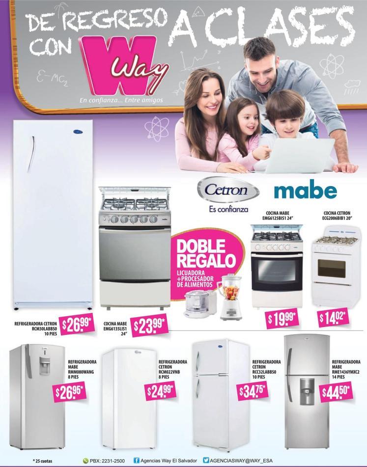 WAY almacenes promociones electro ENERO 2016