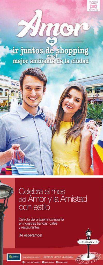 Amor es ir juntos de shopping La GRan VIa promociones