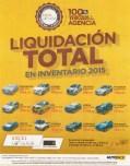 Atencion liquidacion de carro usados de agencia