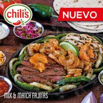 CHILIS el salvador new dish MIX and MATCH fajitas