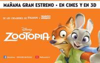 Disnes ZOOTOPIA movie premier 2016