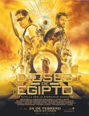 Estreno de la pelicula DIOSES DE EGIPTO