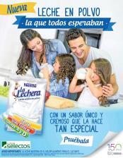 LA LECHERA NESTLE presenta su nueva leche entera en polvo