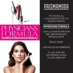 NUeva marca PHYSICIANS FORMULA make up products lanzamiento