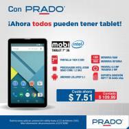 Ofertas en PRADO MOBI tablet con procesador INTEL