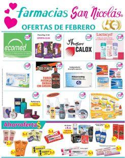 Ofertas en medicamentos FEBRERO 2015 san nicolas farmacias el salvador