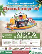 SUPER SELECTOS RIFA de 30 premios de super por un año VERANO 2016