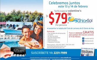 Valentines 2016 promotion BEACH resort el salvador