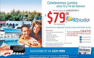 Valentines 2016 promotion BEACH resort el salvador