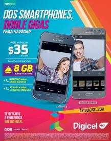Valetines day promotions 2 SMARTPHONES samsung via DIGICEL