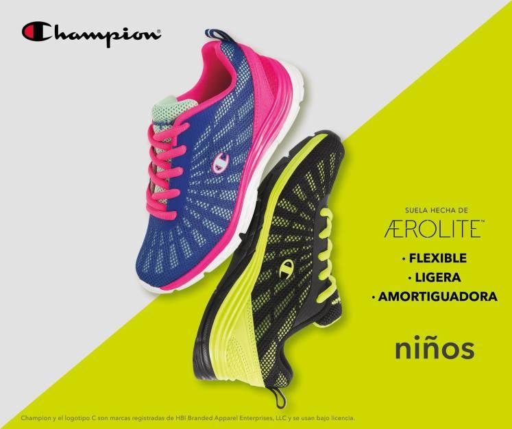 calzado deportivo champios PAYLESS para tus hijos