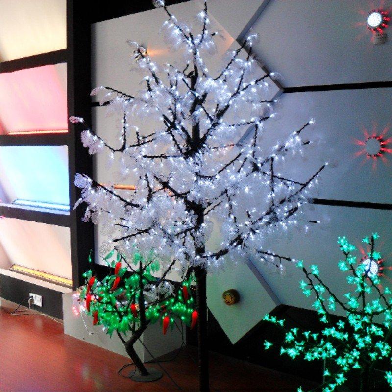 decoracion de navidad con lampares led