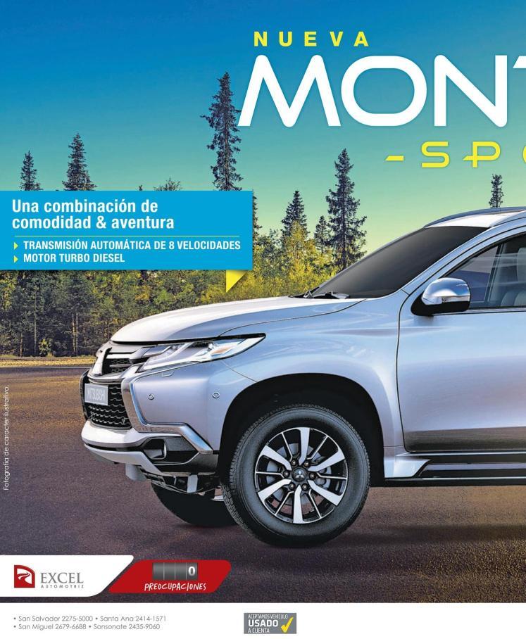 new SUV montero sport 2016