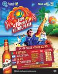 COPA Pilsener 2016 de futbol playa el salvador