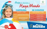 Cartelera de eventos en plaza mundo SEMANA SANTA 2016