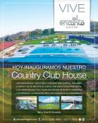 Country club house EL ENCANTO el salvador villas and gold field