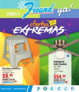 FREUND ofertas extremas en semana santa 2016