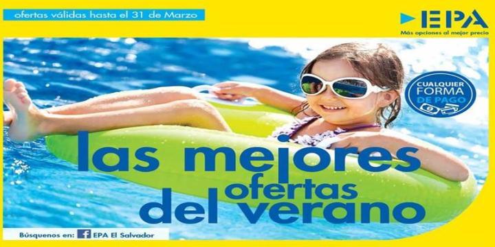 Guia de compras Ferreteria EPA el salvador vacaciones de semana santa 2016