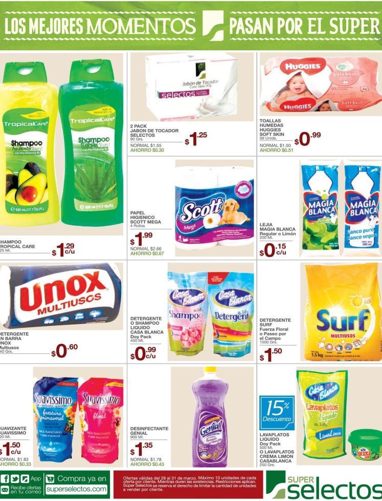Productos para mantener limpia tu casa con precios bajos - 28mar16