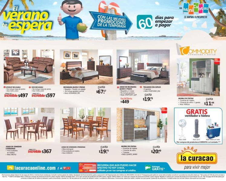 Promociones en muebles de semana santa 2016 LA CURACAO