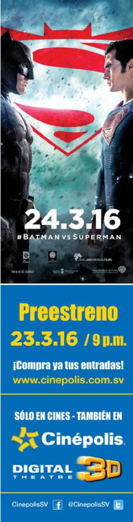 cinepolis Pre estreno de BATAMAN vs SUPErMAN