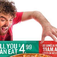comolones de pizza papa johns el salvador