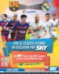 satelite SKY presenta el clasico 2016 barcelona vs real madrid