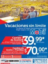 vacaciones sin limite MANTENIMIENTO y cambio de aceite para tu carro