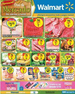 15 productos fresco desde el mercado gracias WALMART el salvador - 29abr16