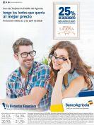 Banco Agricola tiene 25 off de descuiento en OPTICA LA JOYA