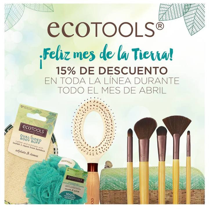 ECOTOOLS make up line DISCOUNTS gracias a PrismaMOda