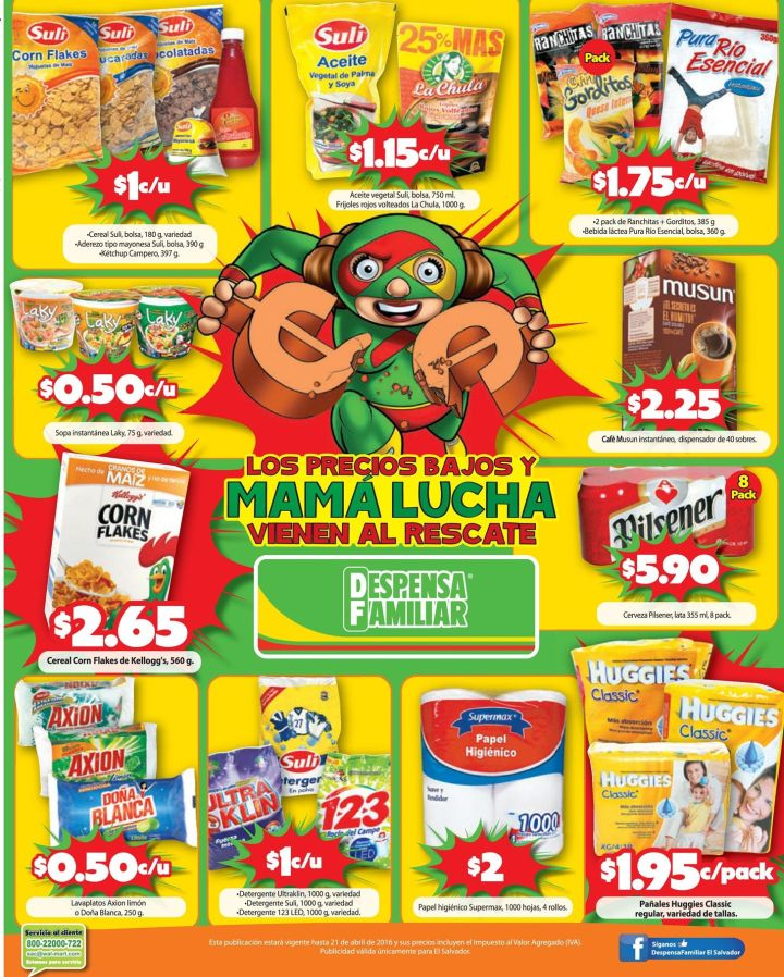 Estas ofertas son para ti mama ahorrativa DESPENSA FAMILIAR - 15abr16