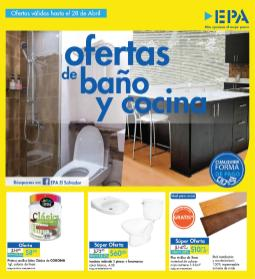 Ferreteria EPA ofertas de baño y cocina