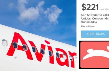 Hopper deals OFERTAS avianca san salvador