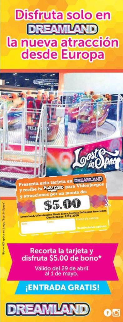 New game from EUROPE Lost in SPace en DREAMLAND