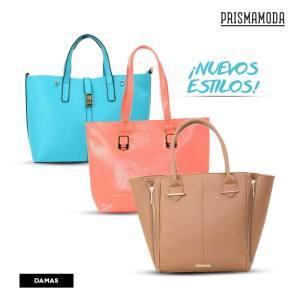 Nuevos estilos de bolsos en PRISMA MODA - Abril 2016