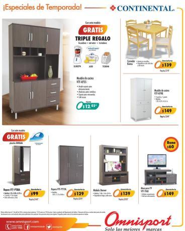 Omnisport tiene precios y muebles especial para este finde - 08abr16