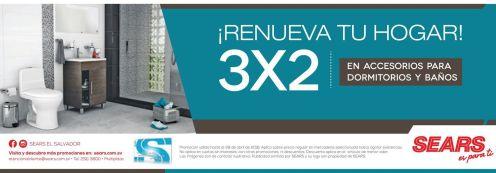 Promocion 3x2 para renovar dormitorios y bathrooms