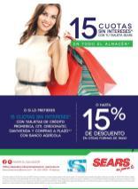 SEARS promociones y descuentos de fin de semana - 08abr16