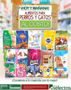 Super Selectos Consiente a tu mascota PERROS Y GATOS alimento al costo - 16abr16