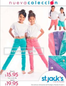 Tendencias en ropa para chicas en ST JACKS